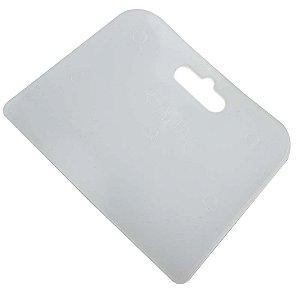 Espátula Plástica Celuloide 135 X 70 mm Pac c/12 Unid.- ECOFER