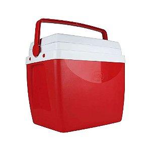 Caixa Térmica 26L Vermelha - MOR