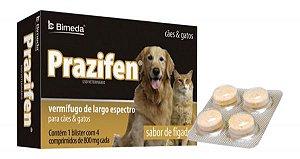 Prazifen (Vermífugo de Largo Espectro Para Cães e Gatos) - BIMEDA