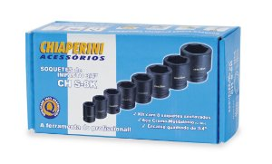 Kit Soquete Impacto 3/4 Ch S- 8K - CHIAPERINI