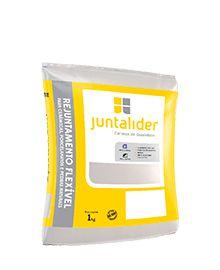 Rejunte Flex 1kg Cinza Platina Fardo C/20KG - JUNTALIDER