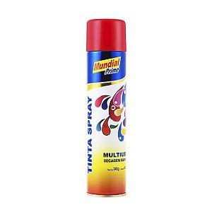 Tinta Spray 200ml Uso Geral Vermelho - MUNDIAL PRIME***