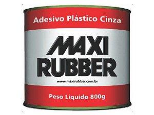 Massa Plastica Cinza 800gr - MAXI RUBBER
