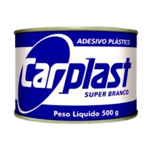 Massa Plástica Branco 500gr CARPLAST - MAXI RUBBER