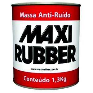 Anti-Ruido Massa 1,3 KG - MAXI RUBBER