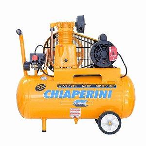 Compressor Ar 7.4 28L 1.5HP S/Kit Bivolt - CHIAPERINI