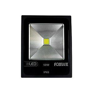 Refletor Led 50W 6500K Preto Bivolt - FOXLUX