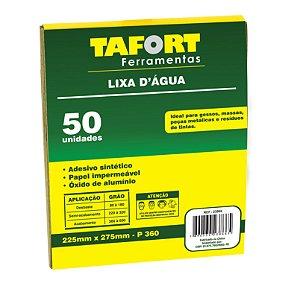 Lixa D'Água Gr 360 (50Pcs) - TAFORT