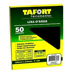 Lixa D'Água Gr 180 (50Pcs) - TAFORT