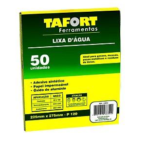 Lixa D'Água Gr 120 (50Pcs) - TAFORT