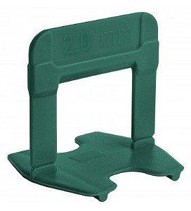Espaçador Nivelador Eco 2,0 mm Verde Pact C/ 50 UN  - CORTAG