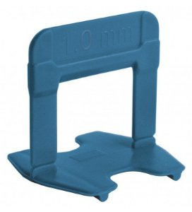 Espaçador Nivelador Eco 1,0 mm Azul Pact C/ 50 UN  - CORTAG