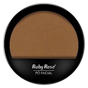 Ruby Rose Pó Facial 7206 17 Marrom