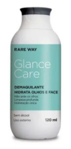 Glance Care Demaquilante Hidratante Facial 120ml Rare Way