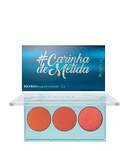 PALETA DE BLUSH CARINHA DE METIDA / BOCA ROSA