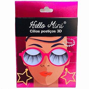 CÍLIOS POSTIÇOS 3D - CL312-4 / HELLO MINI