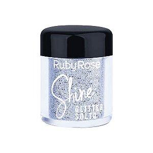 GLITTER SOLTO SHINE - SILVER / RUBY ROSE