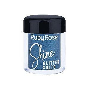 GLITTER SOLTO SHINE - TURQUOISE / RUBY ROSE