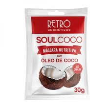 Mascara Nutritiva Óleo de coco 30g