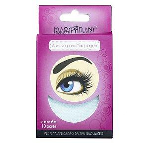 Macrilan Adesivo Para Maquiagem 10 Pares Ac-08
