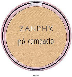 PÓ COMPACTO LINHA ROSA 10 G - ZANPHY