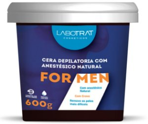 Cera Depilatória FOR MEN  600g / Labotrat
