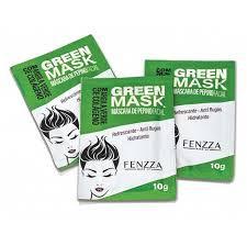 GREEN MASK - MÁSCARA DE PEPINO FACIAL / FENZZA
