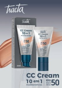CC CREAM 10 EM 1 FPS 50 IOL FREE 30 ML/ TRACTA