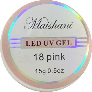 LED UV GEL 18 PINK / MAISHANI
