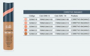 NOVO CORRETIVO RADIANCE  6,5G /TRACTA