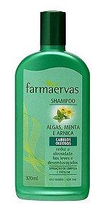 SHAMPOO CABELOS OLEOSOS / FARMAERVAS