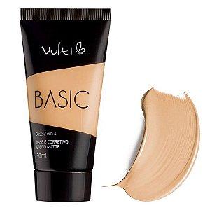BASE E CORRETIVO EFEITO MATTE - BASIC COR 2 / VULT