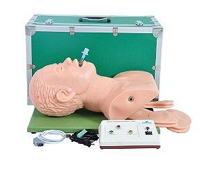 Simulador para Intubação Adulto com Dispositivo Eletrônico