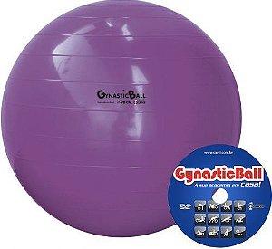 Bola p/ Exercícios Gynastic Ball 95cm c/ DVD de Exercícios