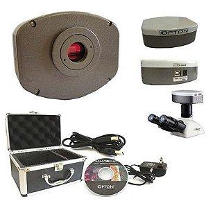 Câmera digital Refrigerada CCD 5.0MP com software (especial para trabalhos com fluorescência e campo escuro)
