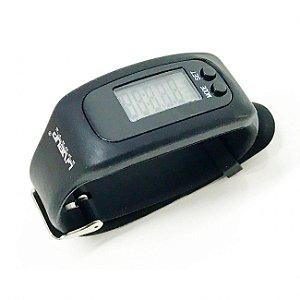 Relógio Pedômetro - Preto