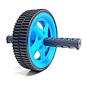 Roda de Exercícios Plus - Preta/Azul