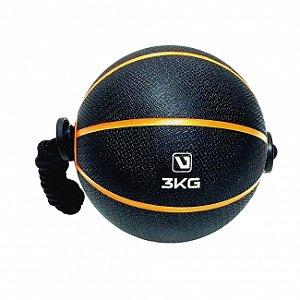 Medicine Ball C/ Corda 3kg