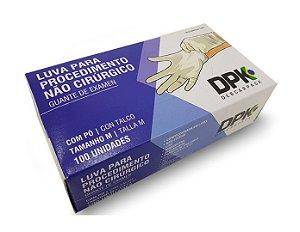 Luva de Látex com Pó para Procedimento – Uso médico Descartável