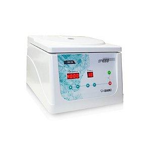 Centrifuga Digital com Motor por Inducao ate 4000rpm PRP/PRF LCD e Rotor 8x15ml