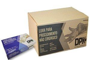 Luva de Latex com Po para Procedimento Cx c/ 20 cartuchos – Uso medico Descartavel