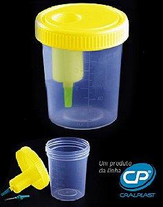Coletor 120ml com dispositivo de transferência da urina estéril Caixa com 200 unidades