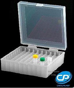 Criobox para tubos tampa com dobradiça