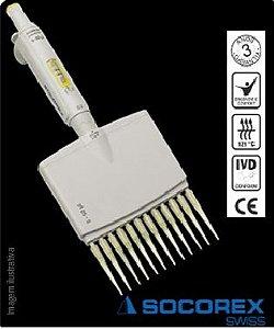 Micropipeta Socorex – 12 canais