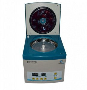 Centrífuga Clinica - Microhematócrito Digital Motor de indução 24 Tubos Capilares