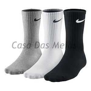 af74043339 KIT C 3 Meias Nike Cano Longo
