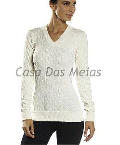 d06194aebe Blusa Cotton Tricô Sem Costura