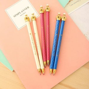 2 canetas coroa