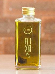 Azeite Elixir #2 (Cúrcuma Defumada com Alho Negro) - 250ml