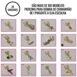 Piercing para Bomba de Chimarrão ♥ 25 unidades ♥